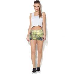Colour Pleasure Spodnie damskie CP-020 272 zielone r. 3XL/4XL. Zielone spodnie sportowe damskie Colour pleasure, xl. Za 72,34 zł.