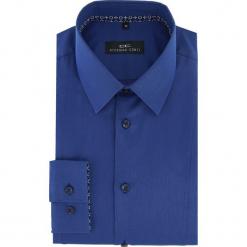 Koszula MICHELE 16-04-09-K. Niebieskie koszule męskie na spinki Giacomo Conti, m, z bawełny, z klasycznym kołnierzykiem, z długim rękawem. Za 199,00 zł.