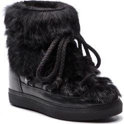 Buty zimowe damskie: Buty INUIKII - Sneaker Rabbit 70203-9-W Black