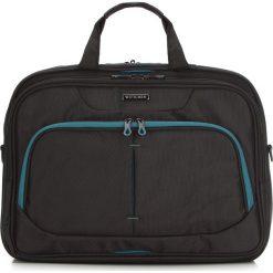 Torba na laptopa 56-3S-633-1C. Czarne torby na laptopa marki Wittchen, w paski, z materiału. Za 319,00 zł.