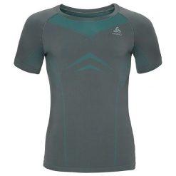 Odlo Koszulka tech. Odlo Shirt s/s crew neck EVOLUTION LIGHT - 184002 - 184002/10494/L. Szare koszulki sportowe męskie marki Odlo, l. Za 65,69 zł.
