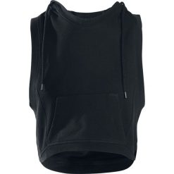 Topy damskie: Urban Classics Ladies Hooded Terry Tank Top damski czarny