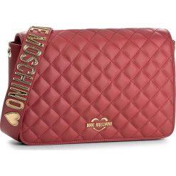 Torebka LOVE MOSCHINO - JC4013PP14LA0500 Rosso. Czerwone listonoszki damskie marki Love Moschino. W wyprzedaży za 499,00 zł.