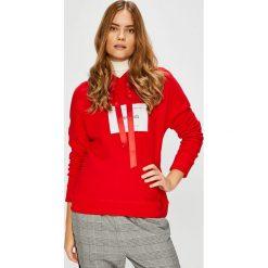 Only - Bluza Lux. Szare bluzy damskie marki ONLY, s, z bawełny, z okrągłym kołnierzem. Za 139,90 zł.