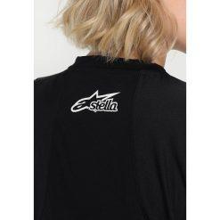 Alpinestars STELLA DROP  Tshirt z nadrukiem black plum. Brązowe topy sportowe damskie marki Alpinestars, m, z materiału, sportowe, z długim rękawem. Za 249,00 zł.