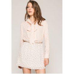 Answear - Koszula. Szare koszule damskie marki ANSWEAR, l, z poliesteru, casualowe, z długim rękawem. W wyprzedaży za 79,90 zł.