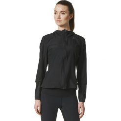 Bluzy rozpinane damskie: Adidas Bluza damska RS HD Wind JKT czarna r.S (BR0715)