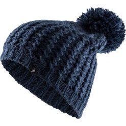 Czapka damska CAD610 - ciemny granat - Outhorn. Czarne czapki zimowe damskie Outhorn, na jesień, ze splotem. Za 34,99 zł.