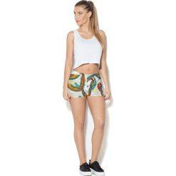 Colour Pleasure Spodnie damskie CP-020 70 beżowo-czerwono-żółto-zielone r. XS-S. Spodnie dresowe damskie Colour pleasure, s. Za 72,34 zł.