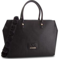 Torebka LOVE MOSCHINO - JC4284PP06KL0000 Nero. Czarne torebki klasyczne damskie marki Love Moschino, ze skóry ekologicznej. Za 1039,00 zł.