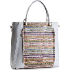 Torebka KAZAR - Alexa 24740-L2-38 Zółty. Białe torebki klasyczne damskie Kazar, w kolorowe wzory, ze skóry, z tłoczeniem. W wyprzedaży za 539,00 zł.