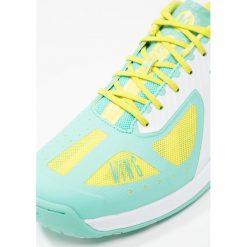 Kempa WING LITE Obuwie do piłki ręcznej turquoise/spring yellow. Niebieskie buty do fitnessu damskie Kempa, z gumy. W wyprzedaży za 415,20 zł.