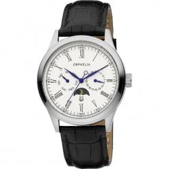 Zegarek kwarcowy w kolorze brązowo-srebrno-białym. Brązowe, analogowe zegarki męskie Esprit Watches, ze stali. W wyprzedaży za 272,95 zł.