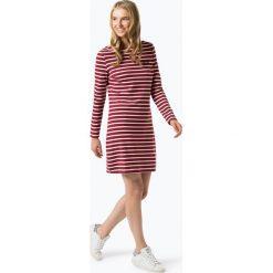 Tommy Jeans - Sukienka damska, czerwony. Czerwone sukienki hiszpanki Tommy Jeans, s, z jeansu, koszulowe. Za 449,95 zł.