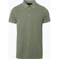Odzież: BOSS Casual – Męska koszulka polo – Prime, zielony
