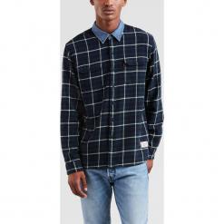Levi's - Koszula Justin Timberlake. Brązowe koszule męskie na spinki Levi's®, l, w kratkę, z bawełny, z klasycznym kołnierzykiem, z długim rękawem. Za 299,90 zł.