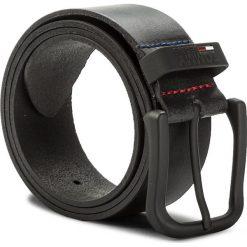 Pasek Męski TOMMY JEANS - Tjm Metal Loop Belt 4.0 AM0AM03286 002. Czarne paski męskie marki Tommy Jeans, w paski, z jeansu. W wyprzedaży za 159,00 zł.
