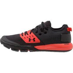 Under Armour CHARGED ULTIMATE 3.0 Obuwie treningowe black/radio red/black. Czarne buty skate męskie Under Armour, z materiału. Za 359,00 zł.