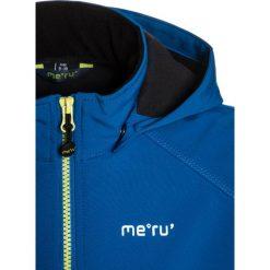 Meru KOKKOLA Kurtka Softshell blau. Niebieskie kurtki chłopięce przeciwdeszczowe Meru, z elastanu. W wyprzedaży za 174,30 zł.