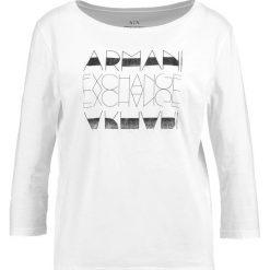 Odzież damska: Armani Exchange Bluzka z długim rękawem white