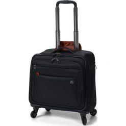Walizka Cassus czarna (LWT.1001.01). Czarne walizki marki David Jones. Za 876,00 zł.