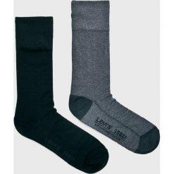 Levi's - Skarpety (4-Pack). Czarne skarpetki męskie Levi's®, z bawełny. Za 99,90 zł.