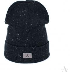 Czapka unisex Basic style czarna. Czarne czapki zimowe damskie Art of Polo. Za 28,94 zł.