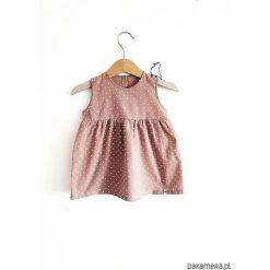 Sukienka plumeti. Czerwone sukienki dziewczęce marki Pakamera, z bawełny. Za 110,00 zł.