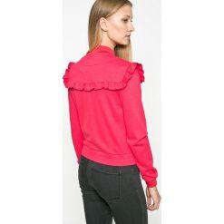 Only - Bluza Stine. Szare bluzy damskie marki ONLY, s, z bawełny, casualowe, z okrągłym kołnierzem. W wyprzedaży za 99,90 zł.