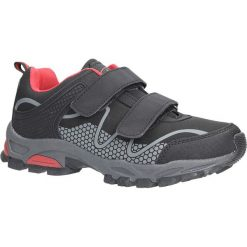 Czarne buty sportowe na rzepy softshell Casu B1529B-3. Czarne buty sportowe damskie marki Casu. Za 89,99 zł.