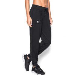 Spodnie dresowe damskie: Under Armour Spodnie damskie Tech Pant Solid czarne r. M (1271689-001)