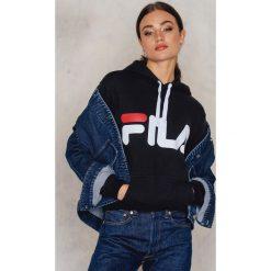 Bluzy damskie: FILA Bluza z kapturem Classic Logo – Black