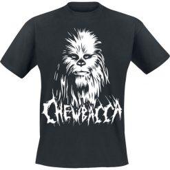 T-shirty męskie: Star Wars Black Metal Chewbacca T-Shirt czarny
