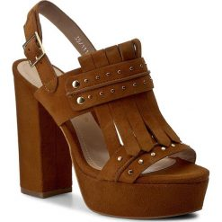 Rzymianki damskie: Sandały BRUNO PREMI – Camoscio K2603P  Cuoio