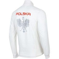 Bejsbolówki męskie: Bluza reprezentacyjna męska PZLA BLM990RN - biały