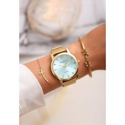 Niebiesko-Złoty Zegarek Land of Confusion. Niebieskie zegarki damskie other, złote. Za 29,99 zł.