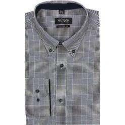 Koszula croft 2183 długi rękaw custom fit brąz. Szare koszule męskie jeansowe marki Recman, m, w kratkę, button down, z długim rękawem. Za 69,99 zł.