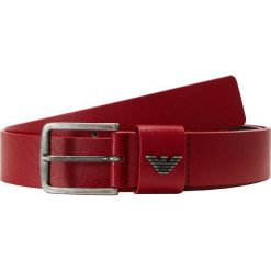 Emporio Armani Pasek rosso. Czerwone paski męskie marki Emporio Armani, w paski, z materiału. Za 359,00 zł.