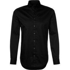 Tiger of Sweden STEEL SLIM FIT Koszula biznesowa black. Brązowe koszule męskie slim marki Tiger of Sweden, m, z wełny. Za 369,00 zł.