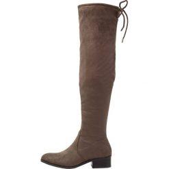 Cassis côte d'azur CABOMBA Muszkieterki taupe. Brązowe buty zimowe damskie Cassis côte d'azur, z materiału. W wyprzedaży za 229,50 zł.