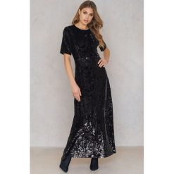 Sukienki: Just Female Sukienka Maxi Pallas – Black