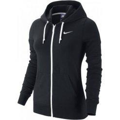 Bluzy rozpinane damskie: Nike Bluza W Nsw Hoodie Fz Jrsy Black Xs