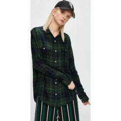 Lee - Koszula. Czarne koszule damskie Lee, l, w kratkę, z bawełny, casualowe, z długim rękawem. Za 199,90 zł.