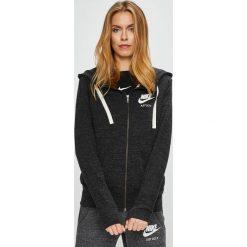 Nike Sportswear - Bluza. Czarne bluzy rozpinane damskie Nike Sportswear, s, z bawełny, z kapturem. W wyprzedaży za 199,90 zł.