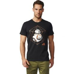 Adidas Koszulka męska BB-8 czarna r. M (BK2839). Czarne koszulki sportowe męskie marki Adidas, m. Za 99,90 zł.