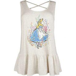 Odzież damska: Alicja w Krainie Czarów Rieche die Blumen Top damski melanż kremowy