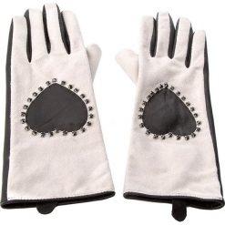 Rękawiczki Damskie TWINSET - Guanti AA7PWE S Bic. Nero/White Cashm 01075. Brązowe rękawiczki damskie Twinset, ze skóry. W wyprzedaży za 289,00 zł.