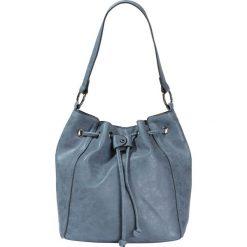 Torebka worek bonprix niebieski - stare srebro. Niebieskie torebki worki bonprix. Za 99,99 zł.