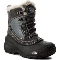 Buty zimowe chłopięce: Śniegowce THE NORTH FACE – Youth Shellista Extreme T92T5VLC2  Zinc Grey/Tnf White