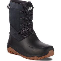 Śniegowce THE NORTH FACE - Yukiona Mid Boot T93K3BKX7 Tnf Black/Tnf Black. Czarne buty zimowe damskie The North Face, z materiału. W wyprzedaży za 419,00 zł.
